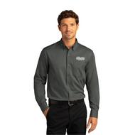Mens Long Sleeve SuperPro React Twill Shirt