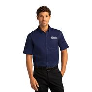 Mens Short Sleeve SuperPro React Twill Shirt