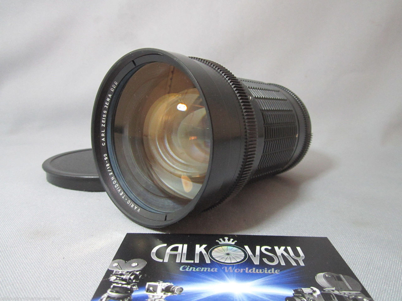 Super-16 Zeiss Vario Tevidon 2 / 18-90mm M9-Mount with Nikon-Mount Zoom  Lens (No 1503)