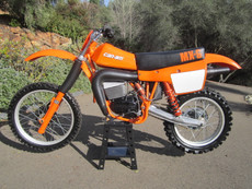 Can Am 1981 MX6 250B Vintage Motocross Dirt Bike