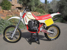 Can Am Sonic 1986 560 Vintage Motocross Dirt Bike