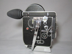 Bolex Rex-1 16mm Movie Camera with 6x Viewer, PRO-SERVICED, TESTED, READY TO RUN