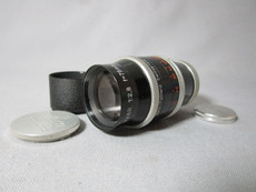 Super-16 Kern Macro Switar 2.8 / 75mm C-Mount Lens (No 827497)