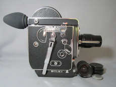 Super-16 Bolex Rex 1 Movie Camera