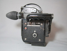 Super-16 Bolex EBM Rex 5 with 13x Viewer