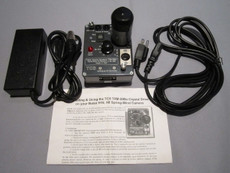 NEW Tobin Crystal Sync Motor and Battery Charger for Bolex Rex 4, Rex 5, SBM