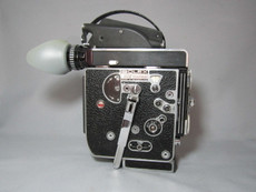 Super-16 Bolex Rex 5 Movie Camera with 13x Viewer - Serviced, Lubed, Tested,  and Ready to Film!