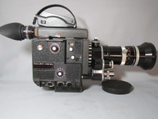 PRISTINE! Bolex EL 16mm Movie Camera with 13x Viewer + Kern Vario 16-100 Lens