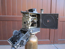 Antique Debrie Parvo 35mm Hand Crank Movie Camera