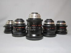 ARRI Zeiss Opton F 1.2 Superspeeds Super-35mm PL Mount - FOUR LENS SET