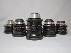 ARRI Zeiss Opton F 1.2 Superspeeds Super-35mm PL Mount - FOUR LENS SET