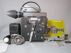 STUNNING NEW 13X Viewer Red Dot - Bolex Rex-5 H6 16mm Movie Camera