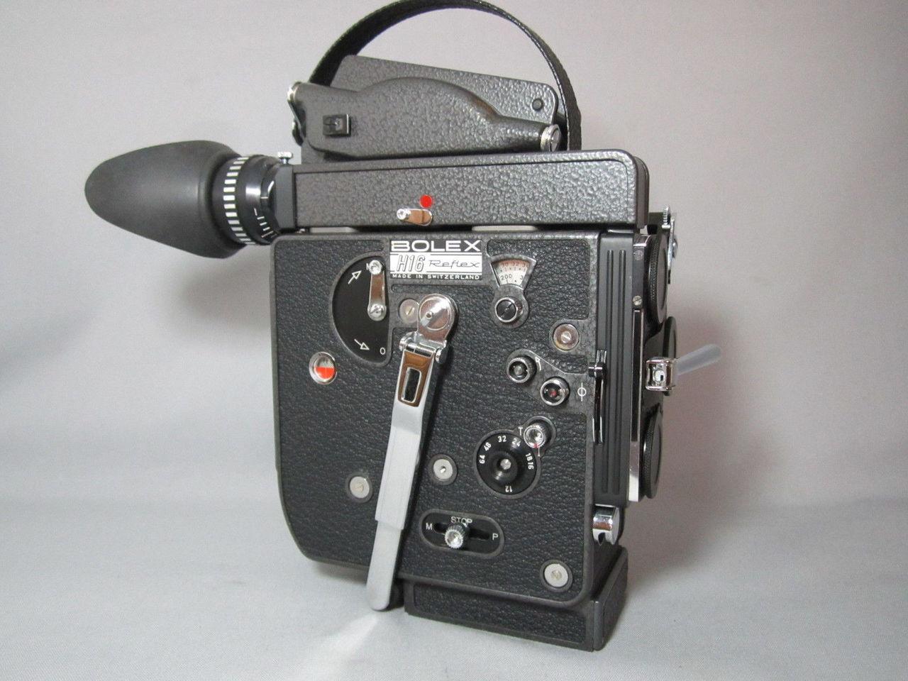 NEW Super-16 - 13X Viewer Red Dot - Bolex Rex-5 H6 16mm Movie Camera