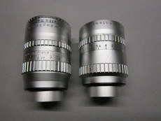 Angenieux Lens Set: 10mm and Super-16 75mm C-Mount Lenses