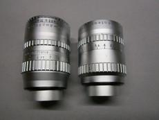 Angenieux Lens Set: 10mm and Super-16 75mm C-Mount Lenses