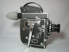 Super-16 Bolex Rex 5 SBM Movie Camera and Zeiss Lens - SERVICED TESTED READY TO FILM