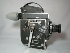 Super-16 Bolex Rex 5 SBM Movie Camera and Zeiss Lens - SERVICED TESTED READY TO FILM
