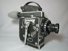 Super-16! Bolex Rex 5 SBM Movie Camera and Zeiss Lens - SERVICED TESTED READY TO FILM