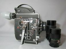 Super-16! 13x Viewer Bolex Rex 5 SBM Movie Camera - SERVICED TESTED READY TO FILM