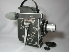 Super-16! Bolex Rex 5 SBM Movie Camera + Zeiss Lens - SERVICED TESTED READY TO FILM