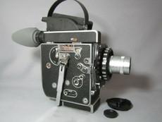 Super-16! Bolex Rex 5 SBM Movie Camera + Zeiss Lens - SERVICED TESTED READY TO FILM