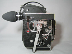 NEW Super-16 with 13X Viewer Bolex Rex-5 H6 16mm Movie Camera
