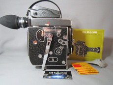 NEW Super-16 RED DOT 13X Viewer Bolex Rex-5 H6 16mm - Hammered Powder-Coat Movie Camera