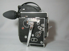 SUPER-16 BOLEX REX-5 MOVIE CAMERA with C-Mount Turret - Serviced and Ready to Film!