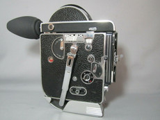 SUPER-16 BOLEX REX-1 MOVIE CAMERA ENLARGED 10X VIEWER - Serviced and Ready to Film!