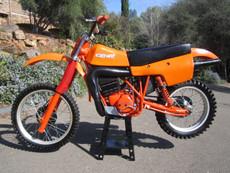 Can Am 1980 M6 Vintage Motocross Dirt Bike