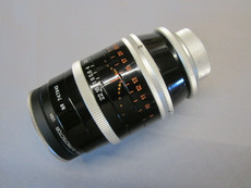 Copy of Super-16 Kern Switar 1.9/75mm C-Mount Lens (No 747943)