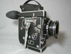 PL-Mount H16 SBM Bolex 16mm Movie Camera with Huge Bright Viewer
