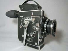 PL-Mount H16 SBM Bolex 16mm Movie Camera with Huge Bright Viewer