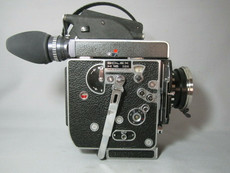 Super-16 PL-MOUNT Bolex SBM 13x Viewer 16mm Red Dot Movie Camera #2