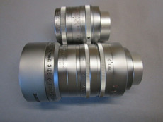 Super-16 Cooke Taylor Hobson 25mm + 50mm Set C-mount