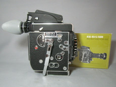 Super-16 Bolex SBM Rex 5 with 13x Viewer Movie Camera