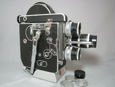 SALE - Bolex Rex-1 16mm Movie Camera Package + 3 Lenses