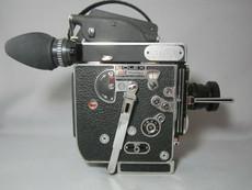 Super-16! 13x Viewer Bolex Rex-5 Movie Camera + Zeiss Lens