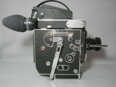 Super-16! 13x Viewer Bolex Rex-5 Movie Camera + Zeiss Lens