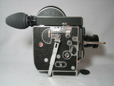 Super-16 Converted Bolex Movie Camera Package - Zeiss C-Mount Lenses