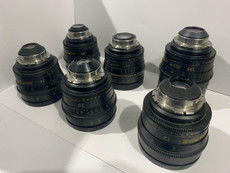 Zeiss Ultra-Prime 35mm Superspeeds PL-Mount Lens Set - 20mm, 24mm, 32mm, 50mm, 85mm, 135mm