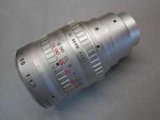 Angenieux S5 1.5 / 50mm C-Mount Lens (No 1165412)