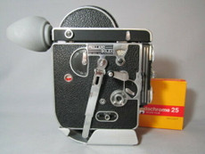 GORGEOUS! Bolex Rex-1 16mm Movie Camera -- Tested, Ready to Film!
