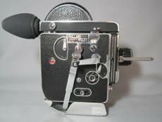Super-16 Bolex 16mm Movie Camera with Schneider C-Mount Lens