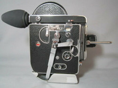 Super-16 Bolex 16mm Movie Camera with Schneider C-Mount Lens