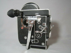 Bolex Rex-4 16mm Movie Camera with Rex-O-Fader