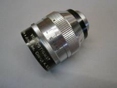 Heavy Brass Carl Meyer 1.0 / 38mm C-Mount Lens (No 124)