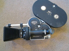 Arriflex 16mm Movie Camera Package: Motor, Matte Box, Magazine
