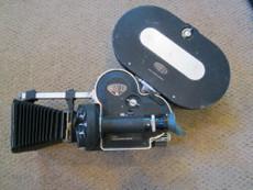 Arriflex 16mm Movie Camera Package Motor, Matte Box, Magazine