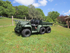 John Deere Military Gator Diesel 6x4 4x4 ATV (Under 200 Hours)